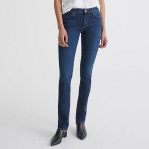 AG The Harper Essential Straight Jean in Smitten